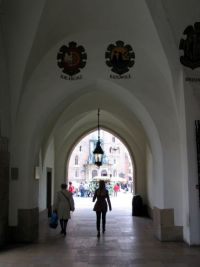 09. Cloth Hall arcade